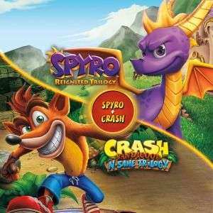 Spyro Reignited Trilogy + Crash Remastered Trilogy PS4 PS Store wersja cyfrowa