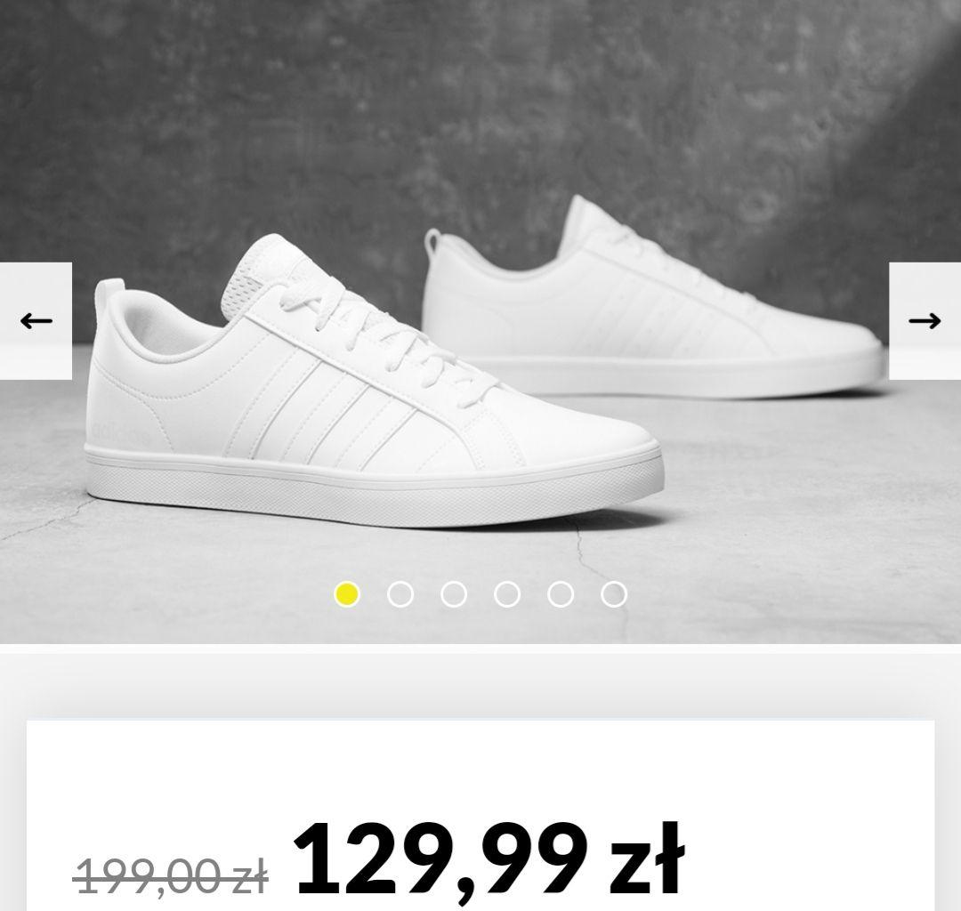 Adidas VS SPACE BIAŁE
