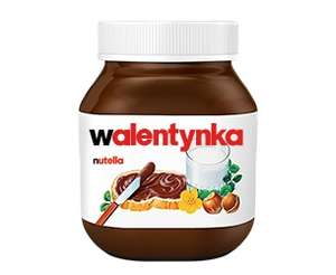 Twoja etykieta na słoik Nutelli (Walentynka, Kocham Cię, super uczeń i inne) @ Nutella
