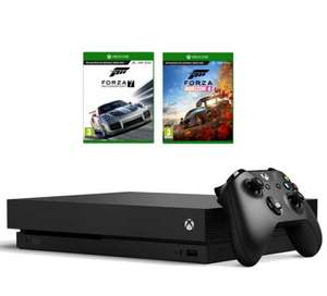 XBOX ONE X 1TB +Forza Horizon +Motorsport