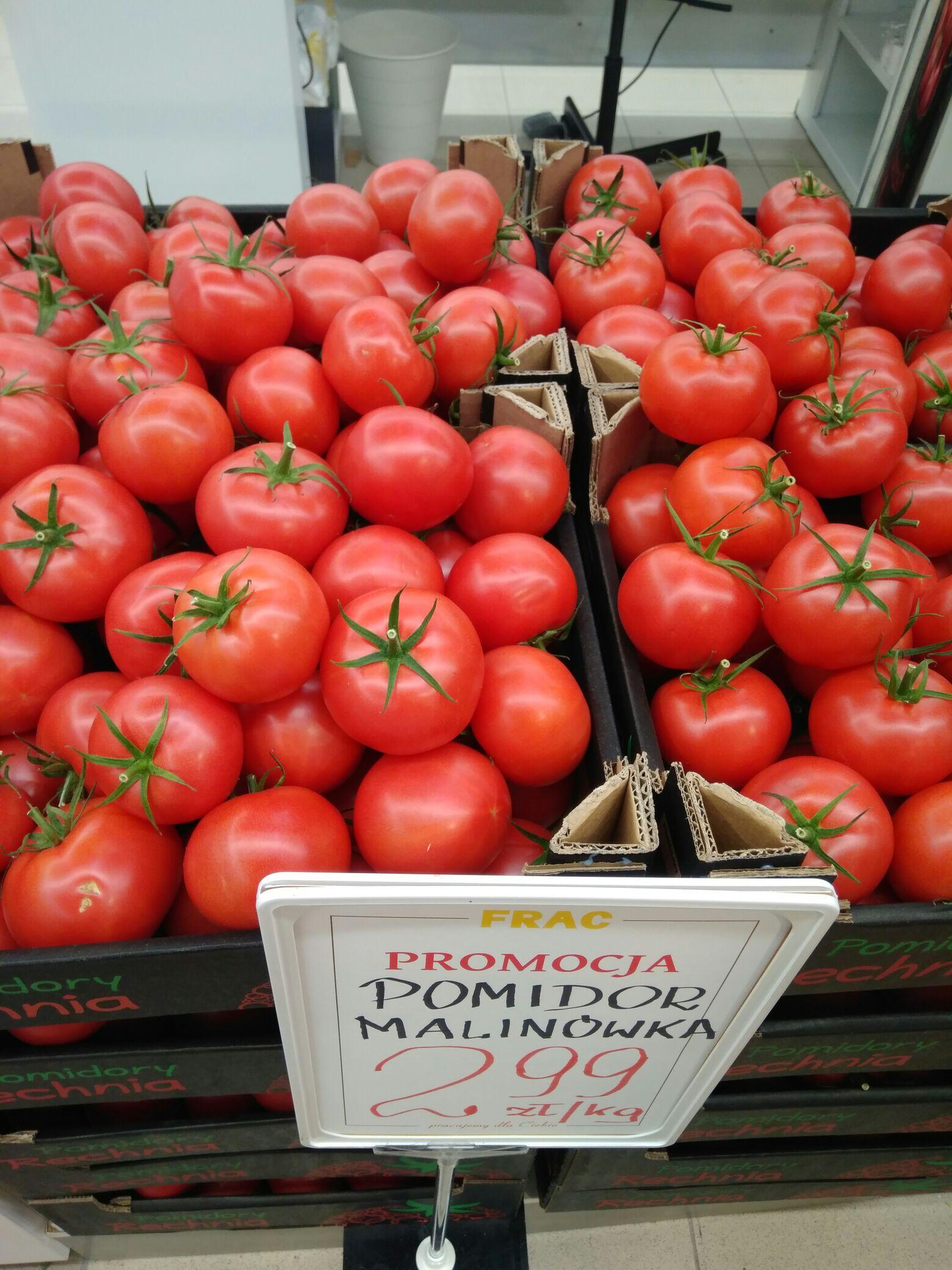 Pomidor malinowy / Frac / Warszawa, Puławska 131