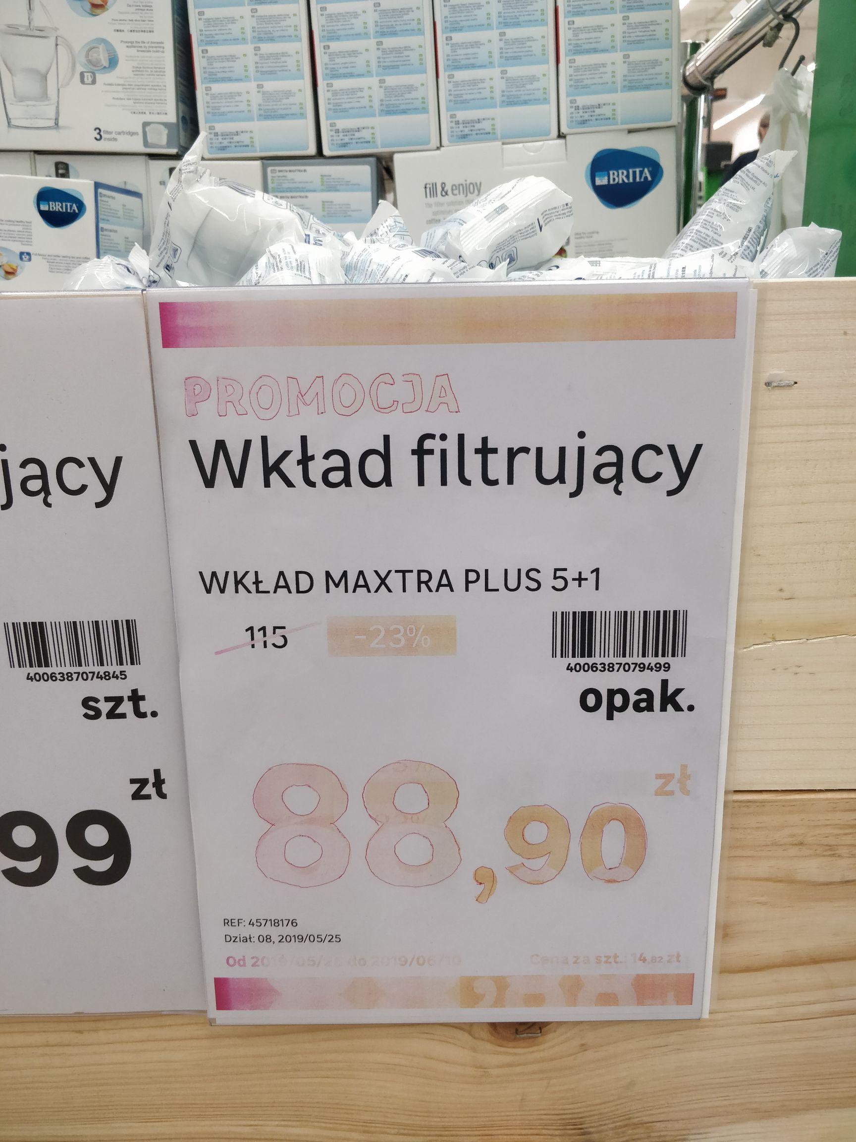 Oryginalny wkład Brita Maxtra+ (plus) WAW Arkadia