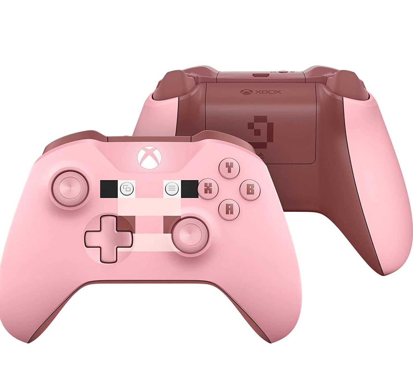 Xbox Wireless Controller, Minecraft Rosa, Edycja Limitowana. Amazon.de