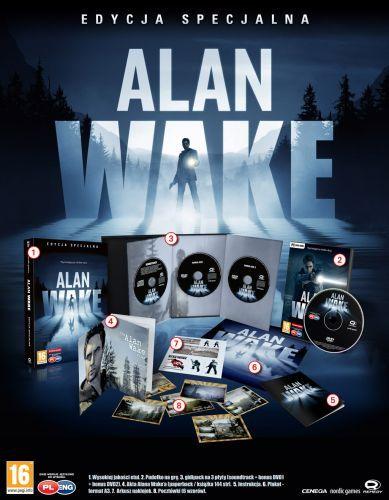 Alan Wake Edycja Specjalna za 6,99 @ Tesco
