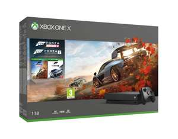 Xbox One X 1TB + Forza Horizon 4 + Forza Motorsport 7 + GTA V