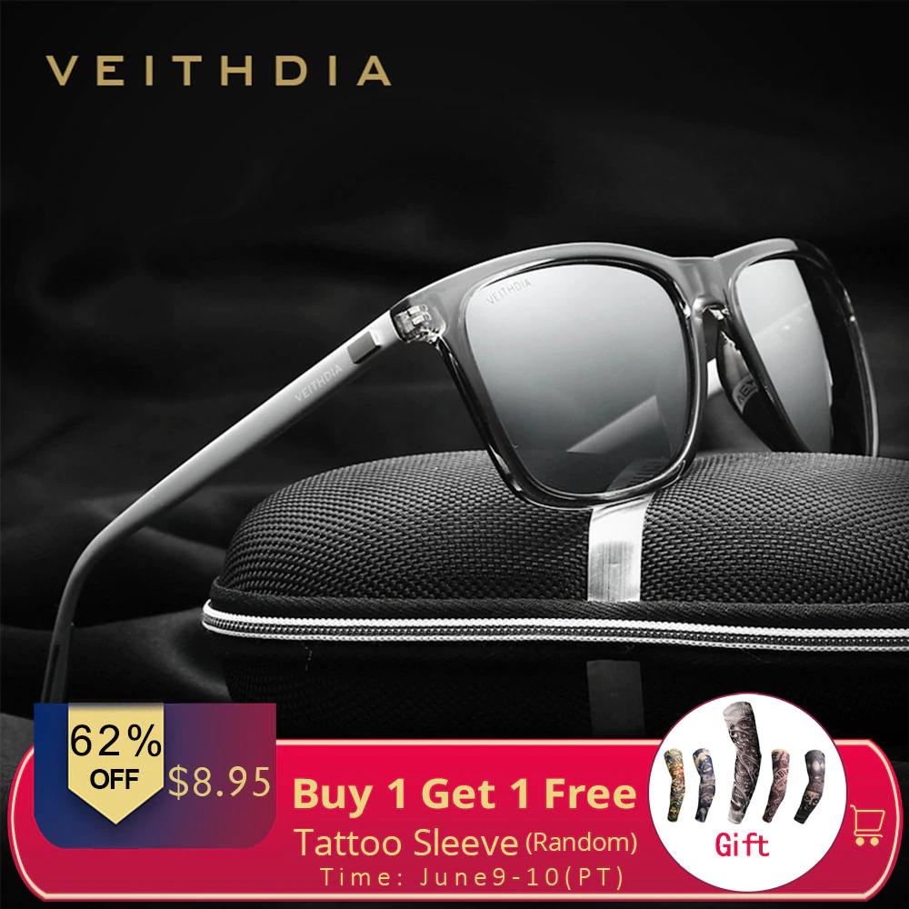 [Zbiorcza oferta] Okulary Veithdia 6108 z filtrami i polaryzacją w dobrej cenie