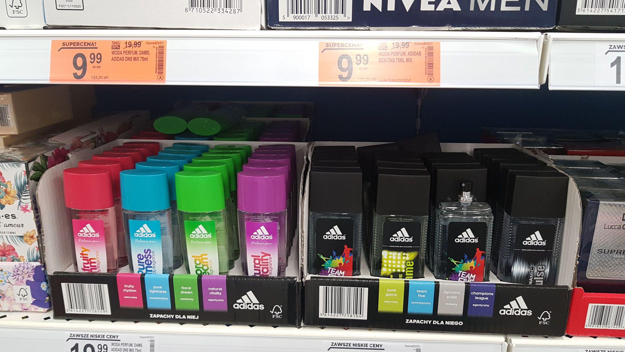 Woda Perfum. Adidas Men i Damski