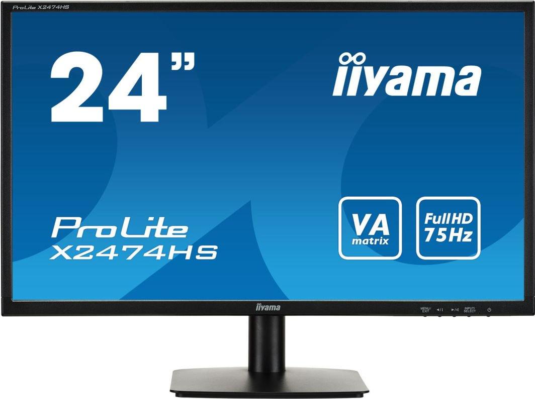 Monitor iiyama X2474HS-B1 matryca VA na morele.net
