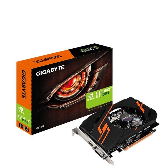 Gigabyte GeForce GT 1030 OC 2GB 64Bit PCI-E GDDR5