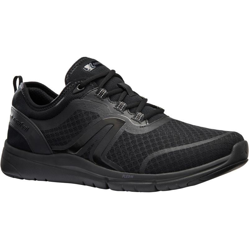 CZARNE buty do chodzenia z Decathlona <3