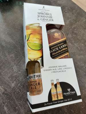 Black label 0,7 + 2x fever tree