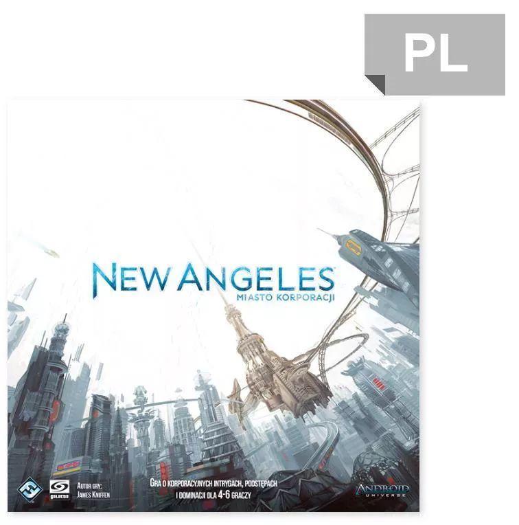 New Angeles kooperacyjna gra planszowa