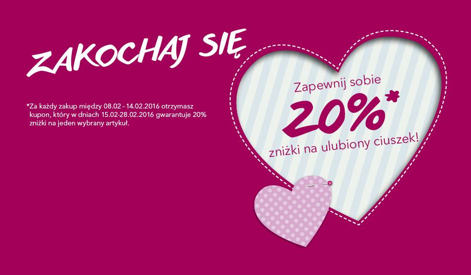 20% zniżki w Takko