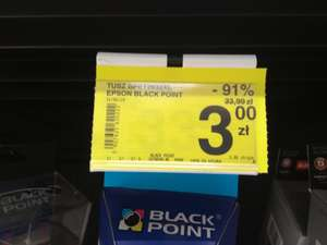 Tusz Epson Black Point BPET2632XL