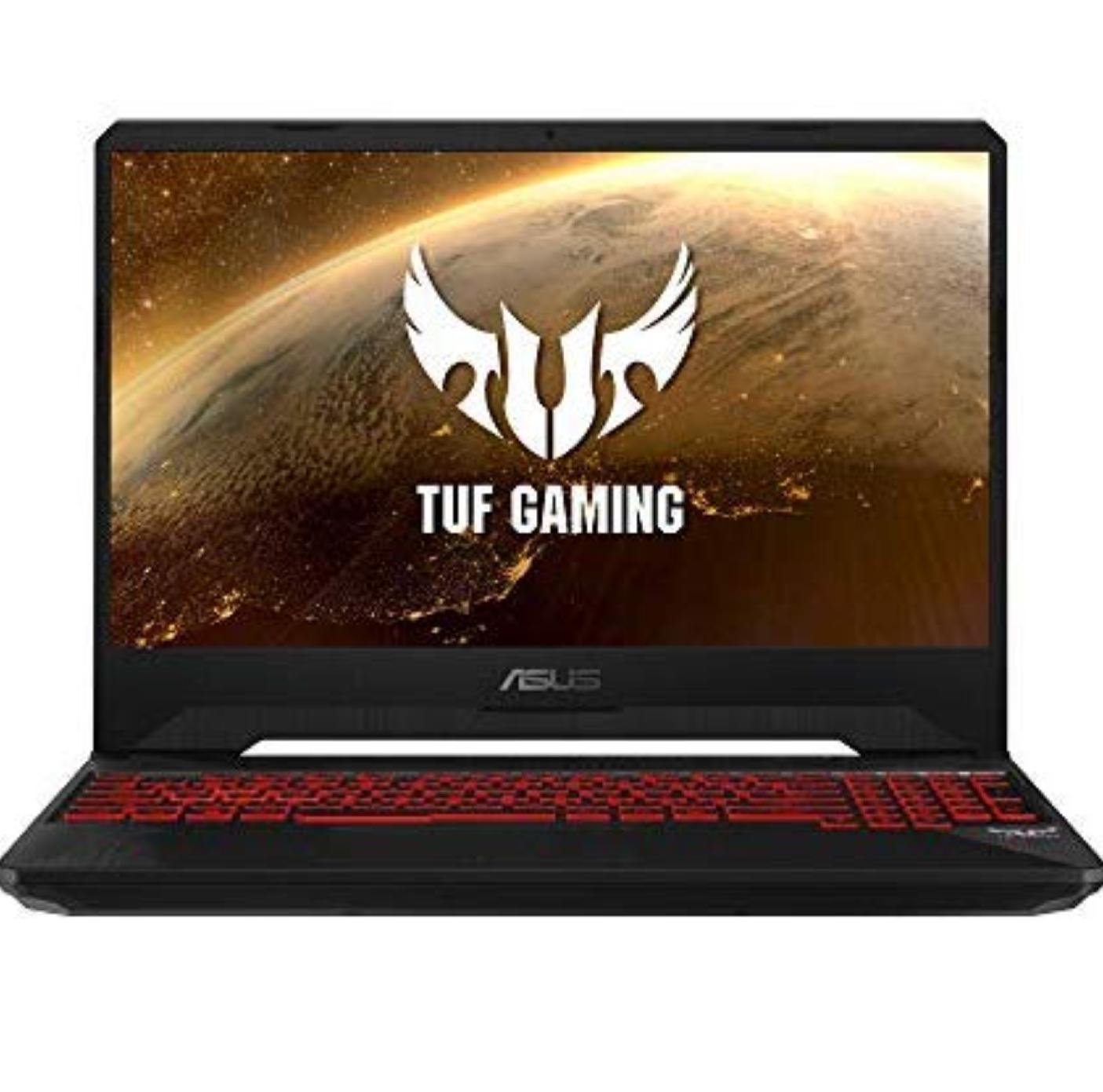 "ASUS TUF Gaming FX505GE-BQ166 FullHD 15,6 ""(Intel Core i7-8750h, 8 GB RAM, 1 TB HDD + 256 GB SSD, NVIDIA GTX1050ti 4 gb . Amazon.es"