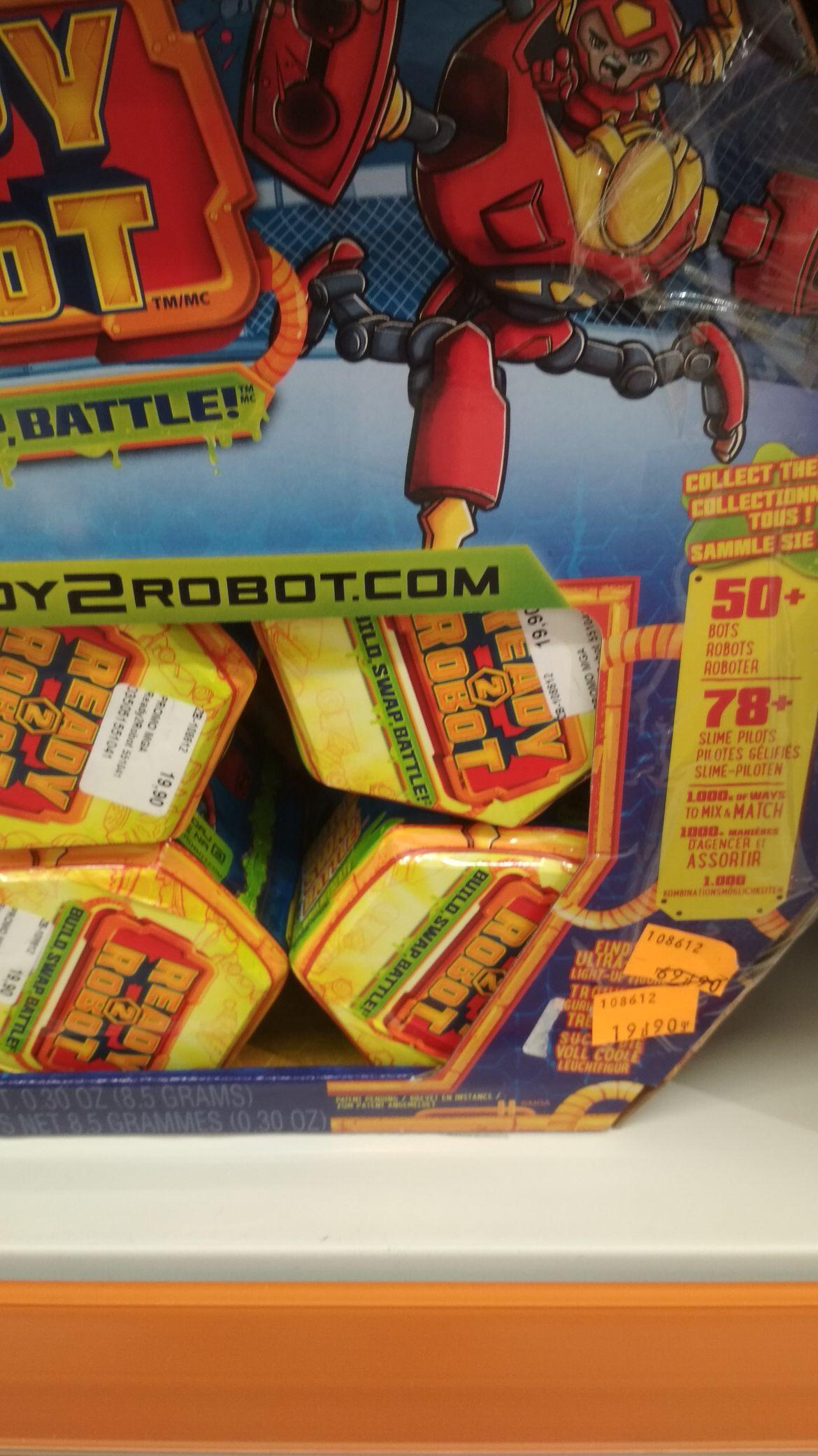 Ready 2 robot mlociny świat zabawek