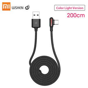 Oryginalny Xiaomi WSKEN Typ-C Szybkie ładowanie danych Kabel USB Stabilna transmisja