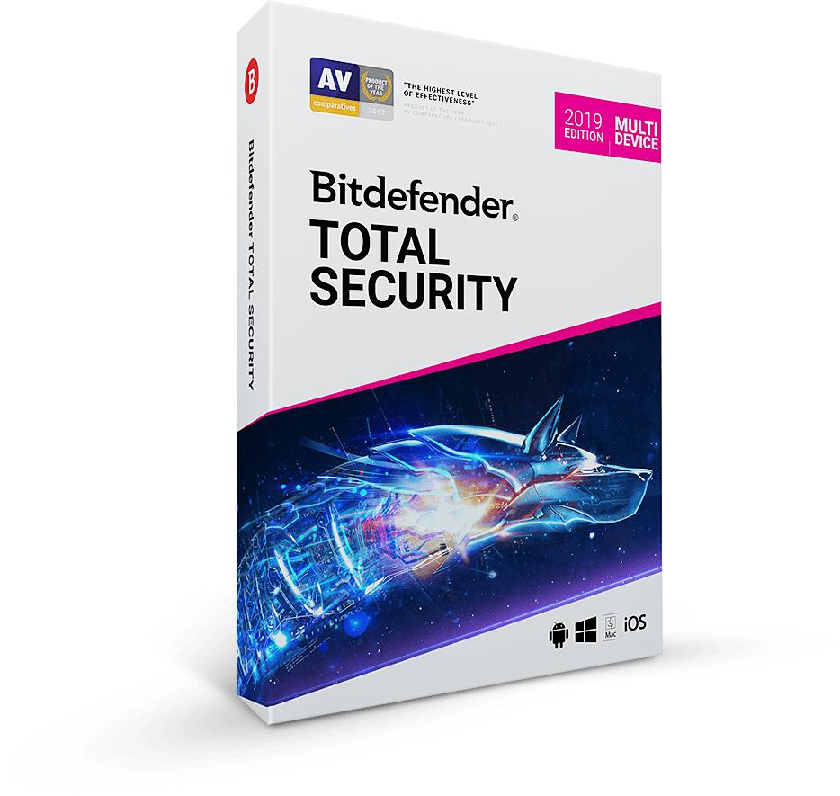 Długa licencja. Bitdefender Total Security 2020 (5urządzeń/90 dni).