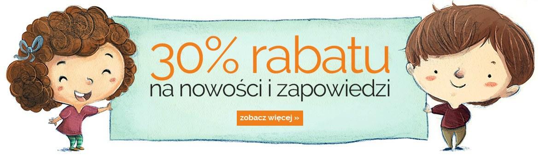 Rabat 30% na nowości i zapowiedzi na egmont.pl