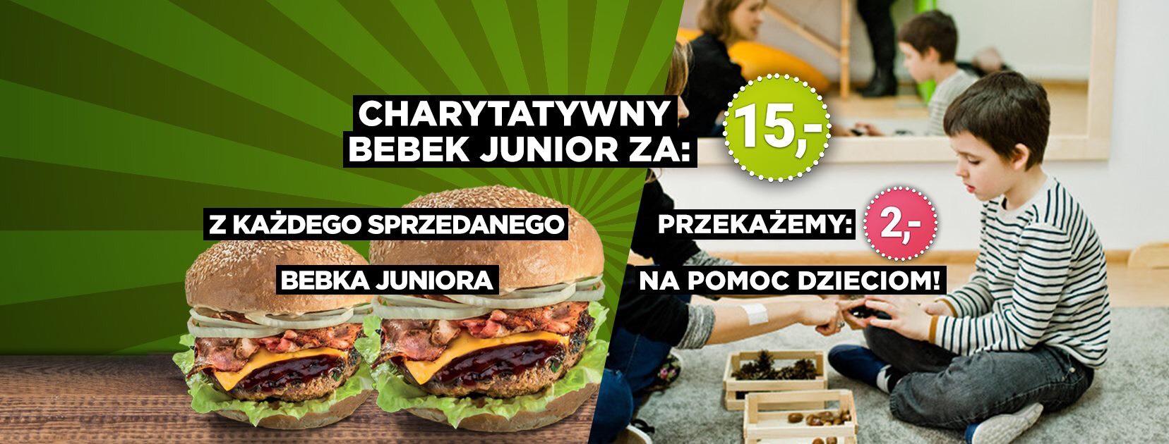 Pasibus - Benek Junior za 15 zł (w tym 2 zł na pomoc dzieciom)