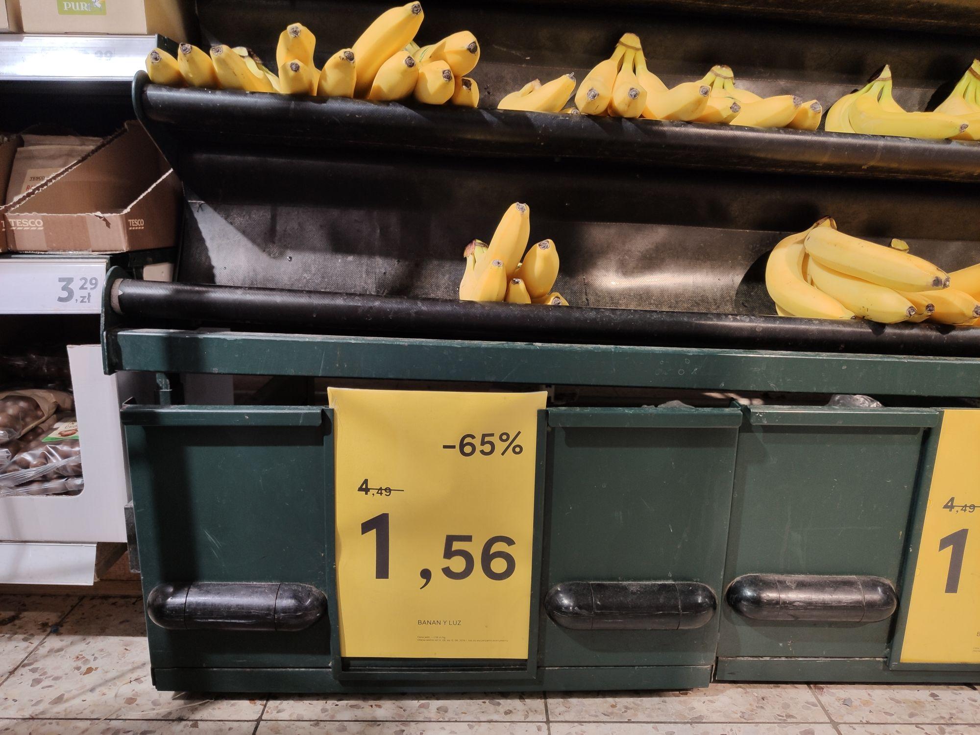 Banany Tesco Warszawa ul Górczewska