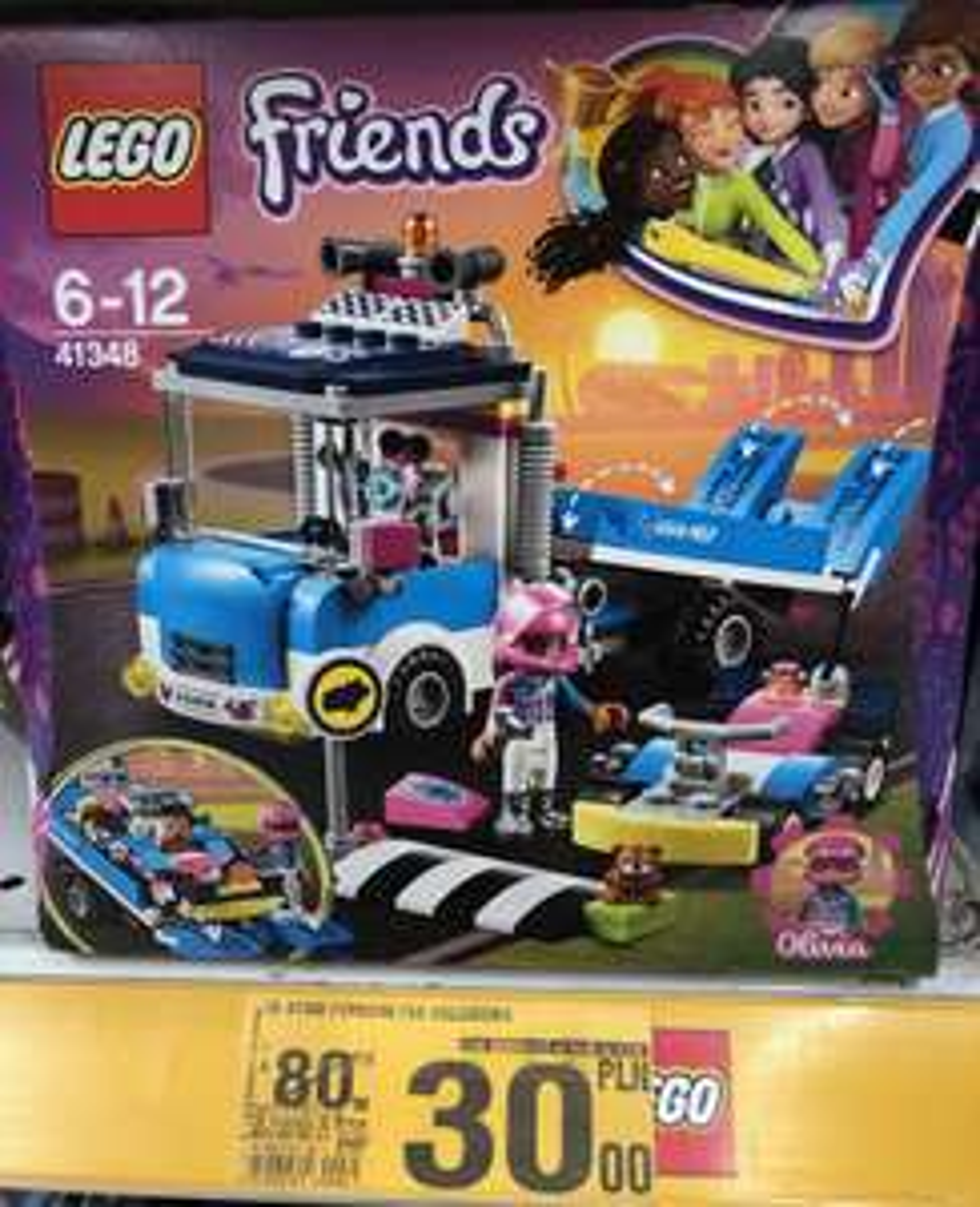LEGO Friends Furgonetka Usługowa - Auchan