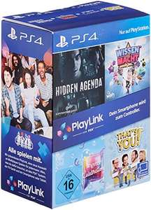 PlayLink Bundle PS4 (Wiedza To Potęga, Ukryty Plan, To Jesteś Ty, Singstar: Celebration)