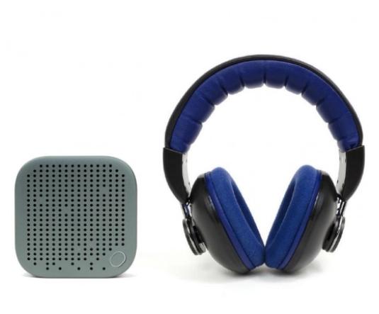 Słuchawki + głośniczek na lato firmy snab
