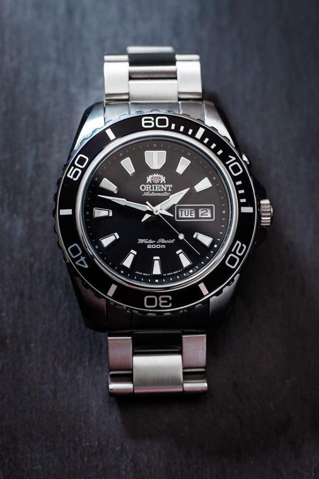 Zegarek automatyczny Orient Big Mako CEM75001BR EM75001B
