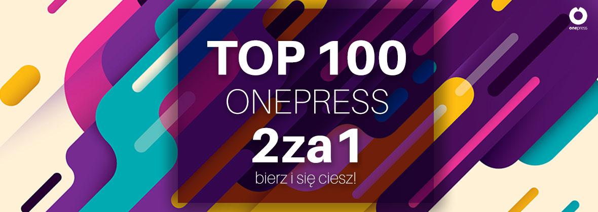 Top 100 książek 2 w cenie 1 @ Onepress