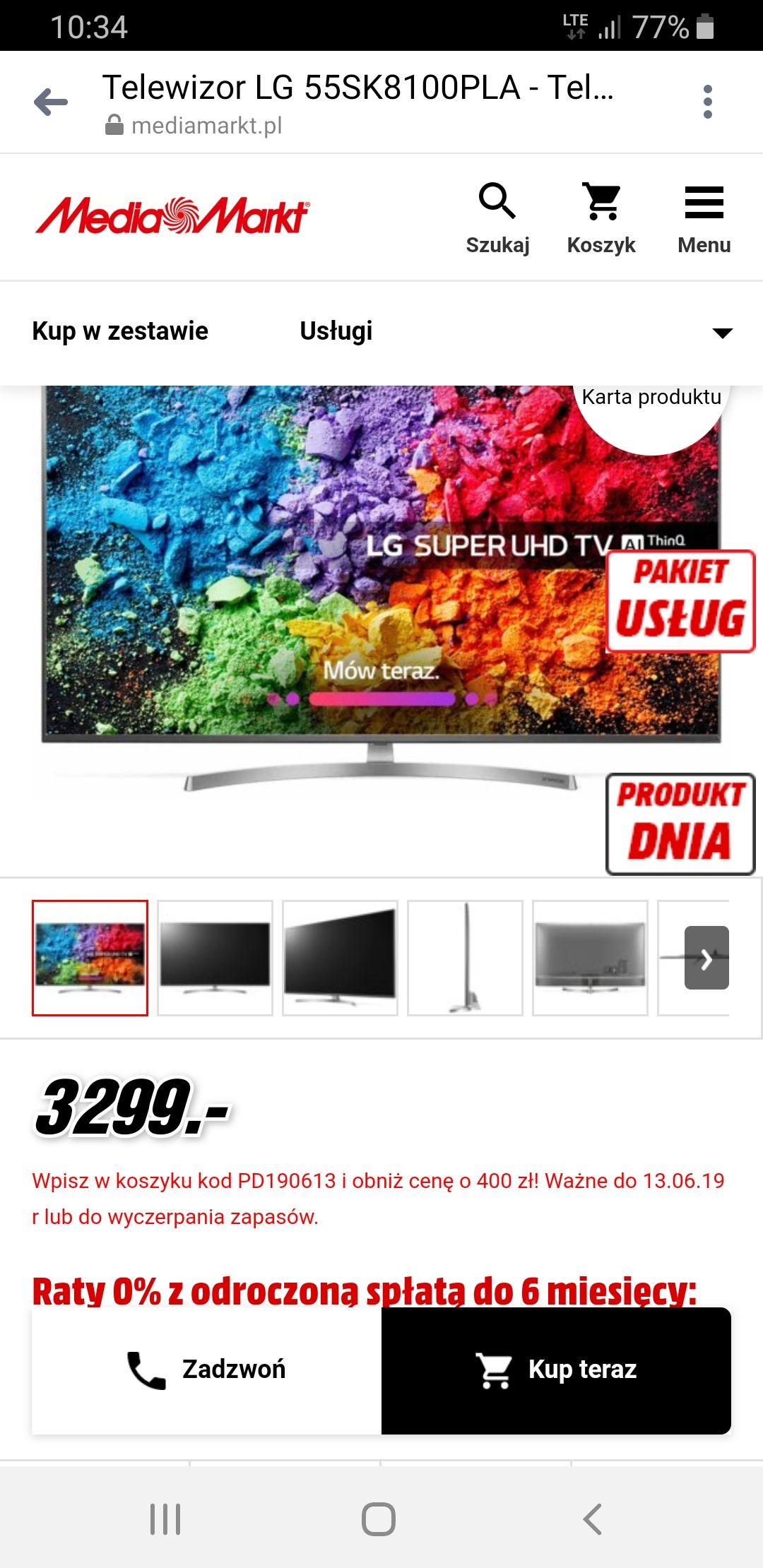 Telewizor LG 55SK8100PLA