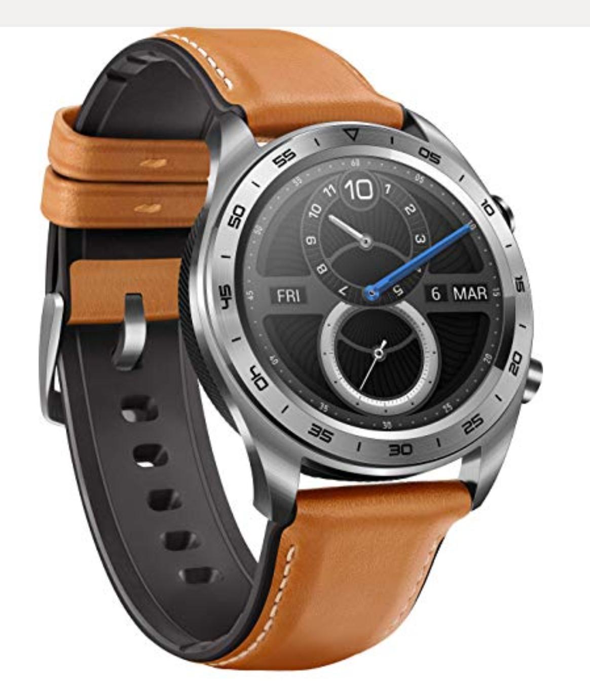 Honor watch Classic w cenie 573zł, kolor czarny 577zł, Huawei Watch GT Black 626zł. Amazon.de