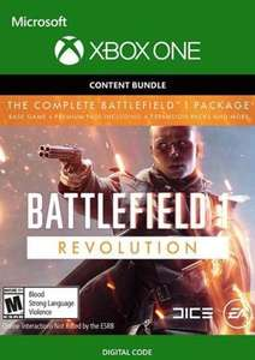 Battlefield 1 rewolucja + Battlefield 1943 na Xboxa one