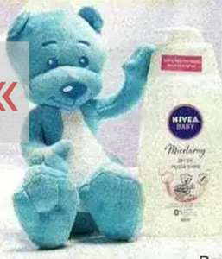 Gratis miś Nivea za zakup 2 x Nivea Baby ROSSMANN