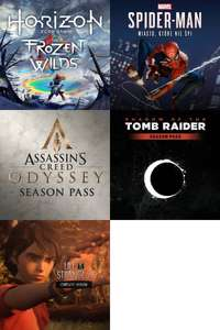 PS4 (Dodatki/Season Pass/Pakiet) Do Gier Marvel's Spider-Man / Shadow of the Tomb Raider / Assassin's Creed Odyssey / Life is Strange 2