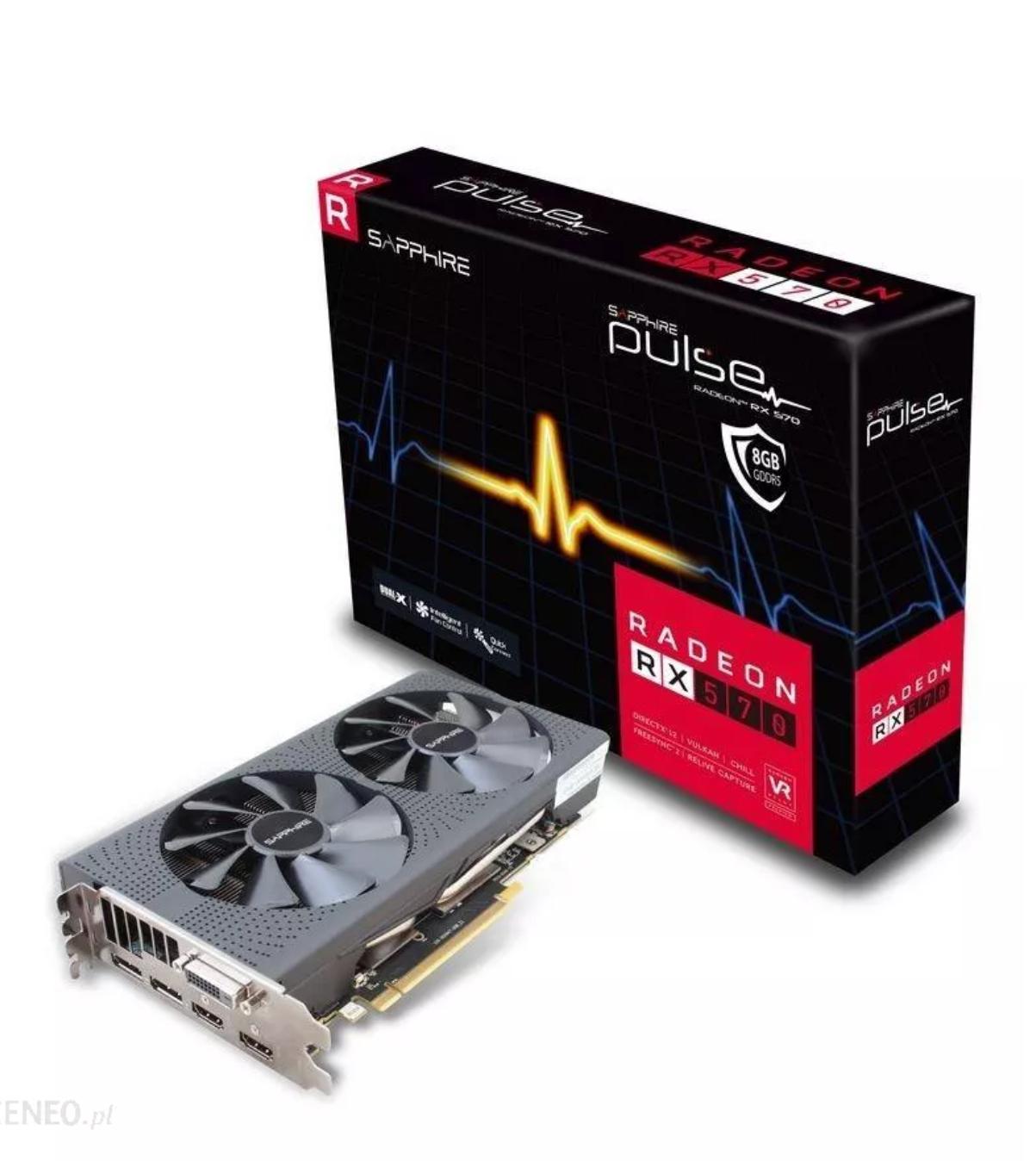 Sapphire Radeon RX 570 Pulse 8GB GDDR5. Amazon.de