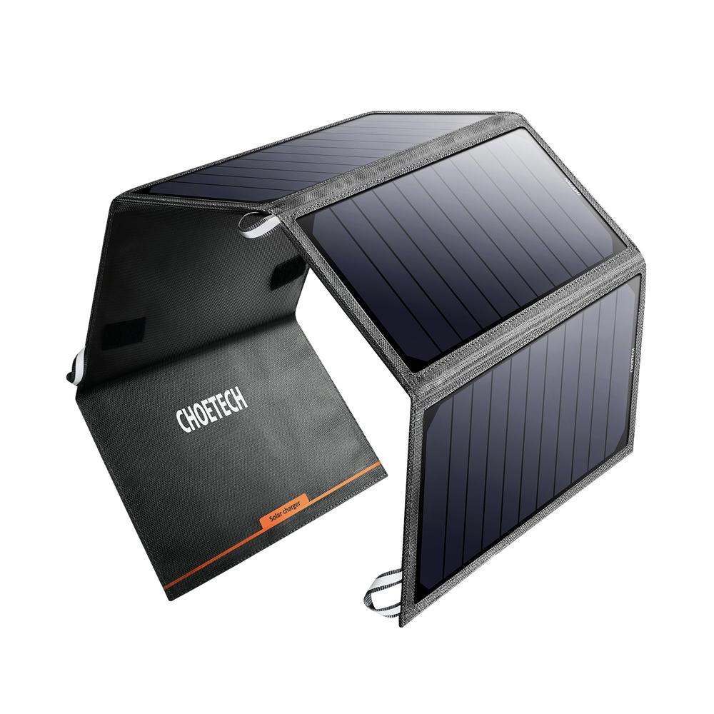 Ładowarka słoneczna 24 W, USB 2 x USB 2,4 A