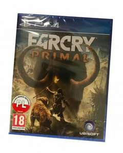 Far Cry Primal PS4 nówka w folii PL