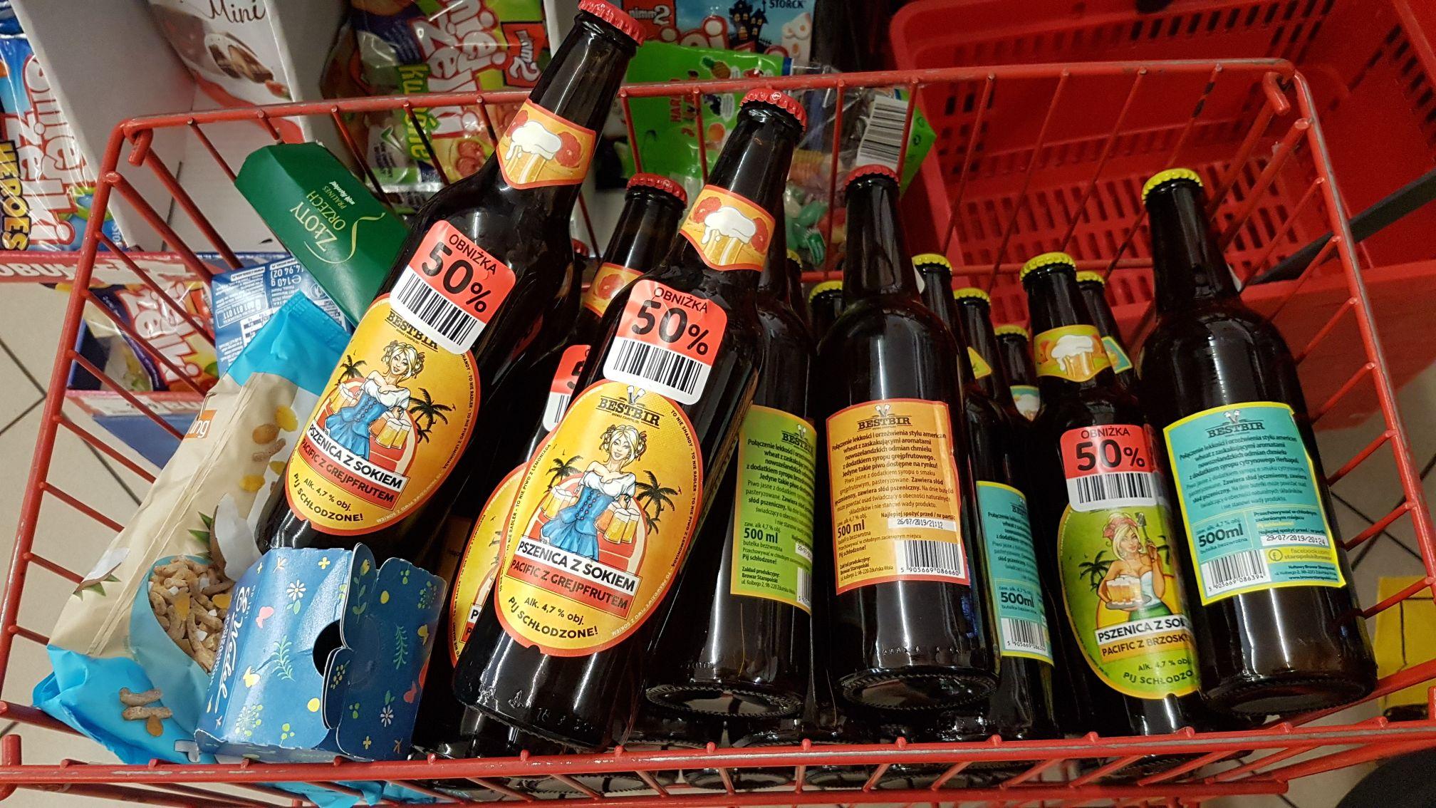Piwa pszeniczne z sokiem Bestbir @ POLOmarket