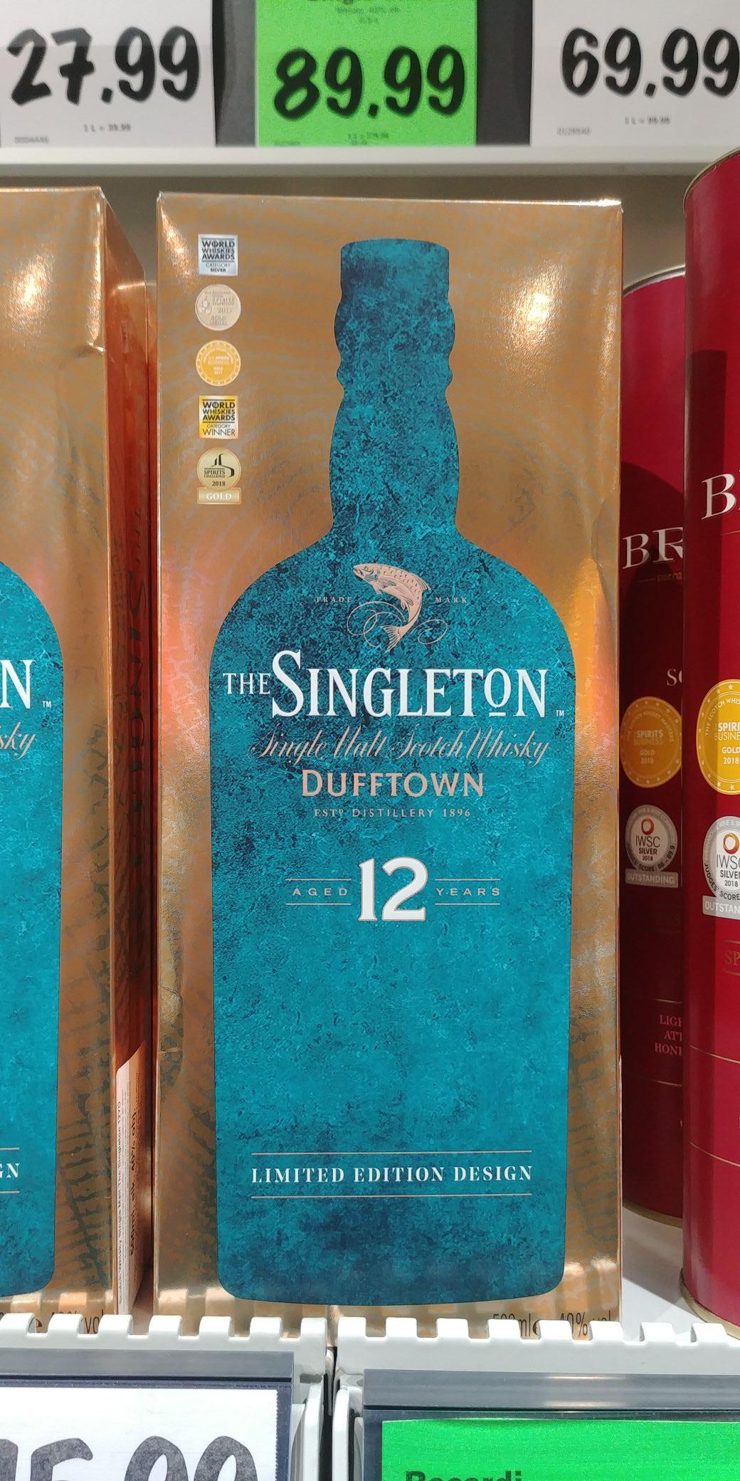 Whisky Singleton of Dufftown 12yo @Lidl