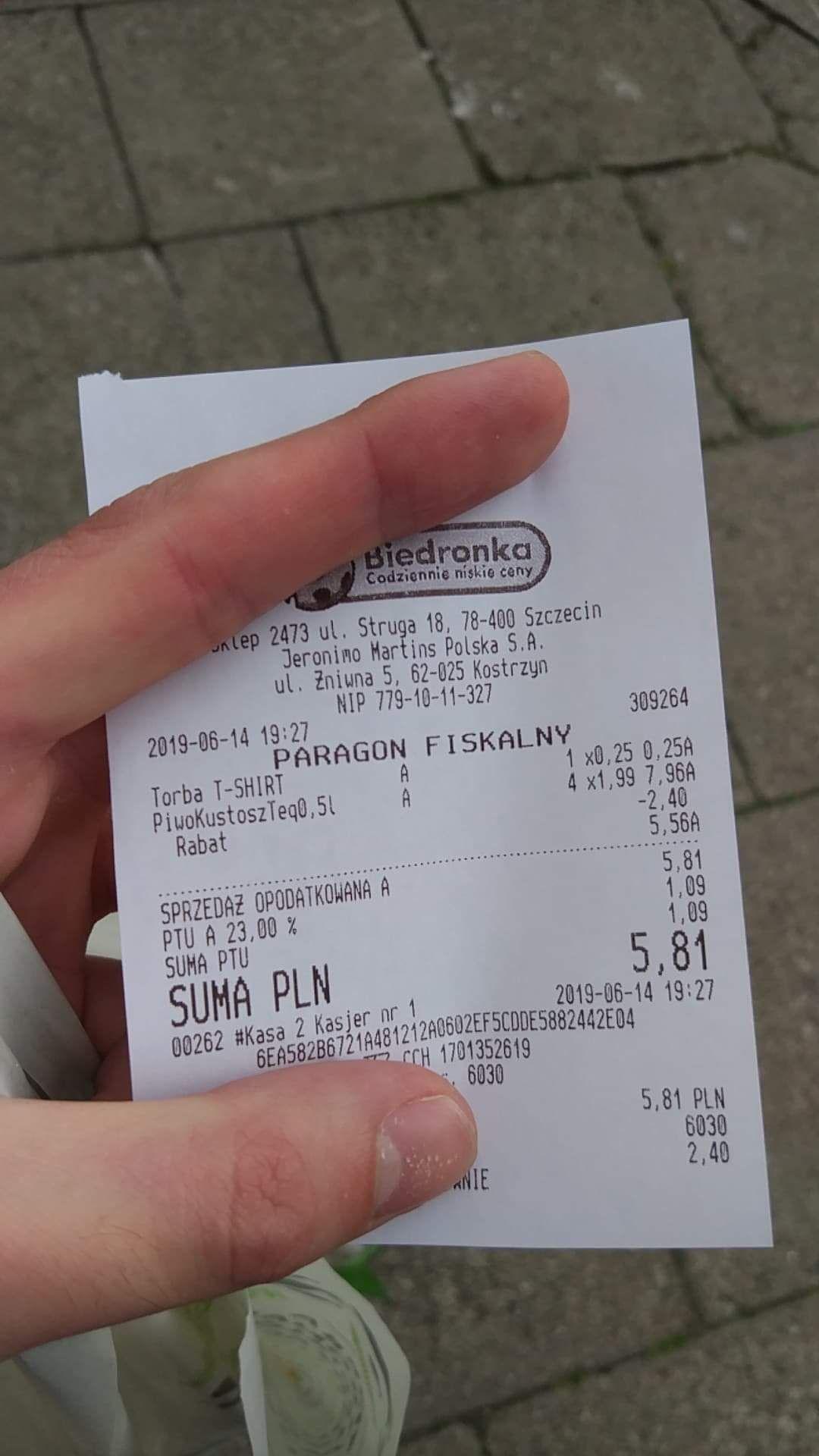 Kustosz Tequila za 1.39 przy zakupie 2 sztuk |Szczecin