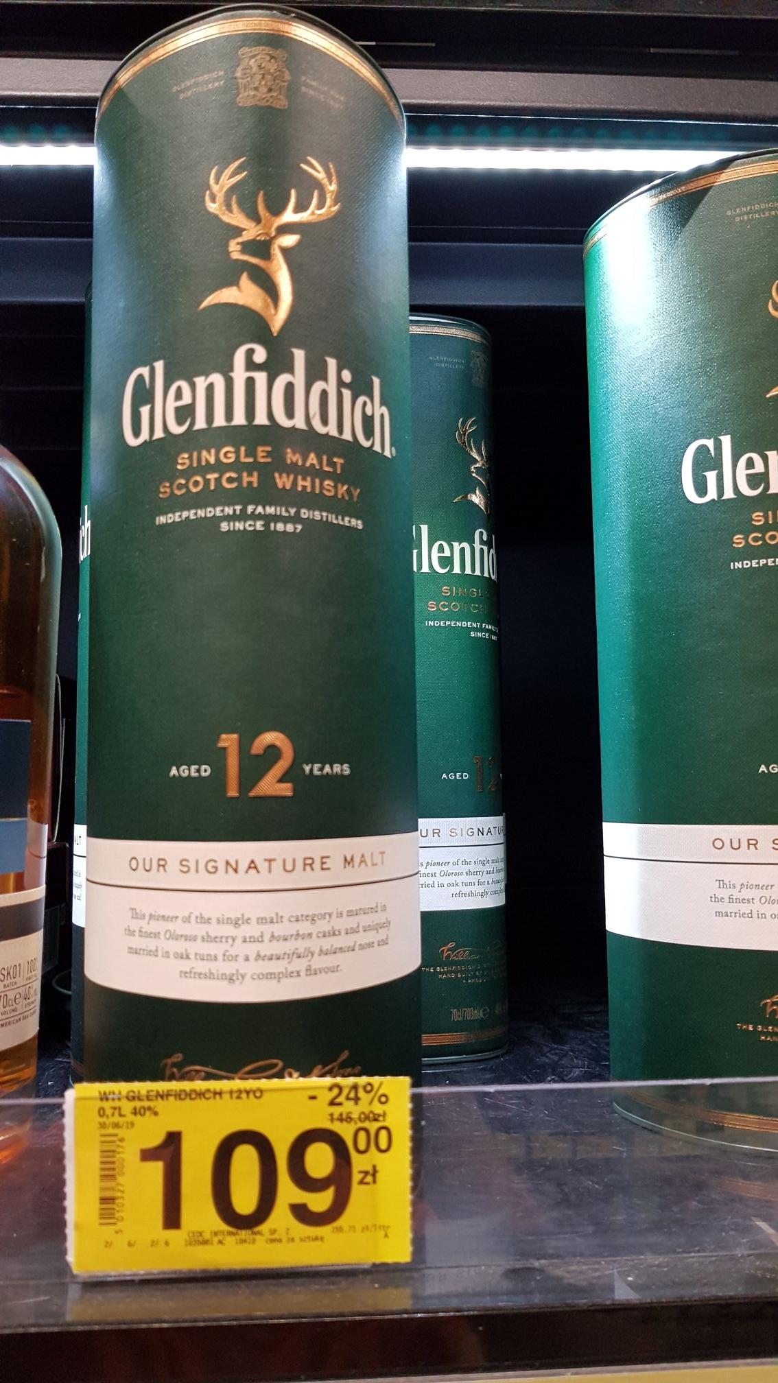 Whisky Glenfiddich 12YO Single Malt
