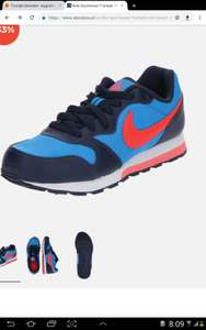Nike Sportswear Trampki 'MD Runner 2' DZIECIĘCE