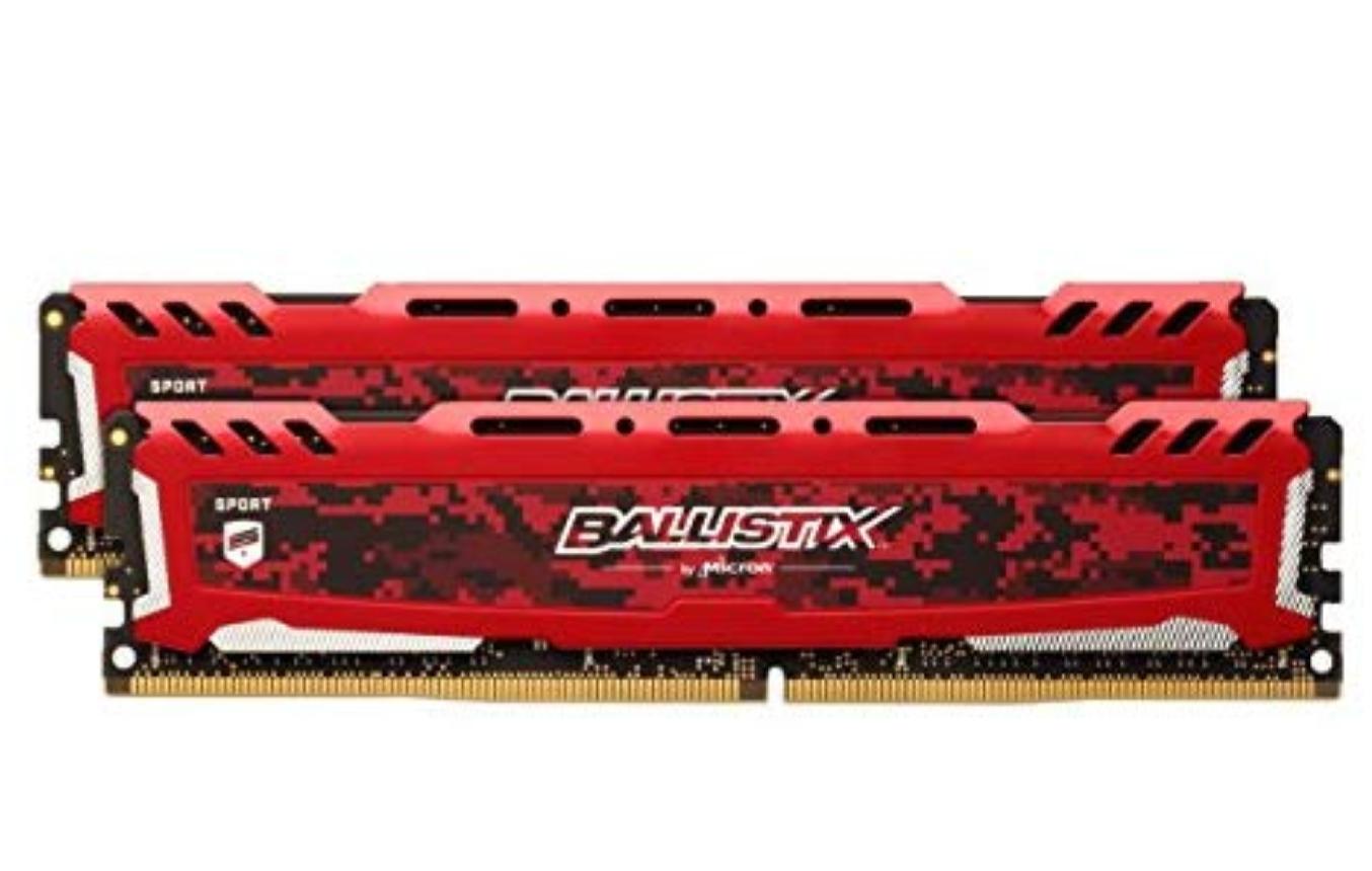 Crucial 32GB 3000MHz Ballistix Sport LT Red CL15 (2x16GB). Amazon.de