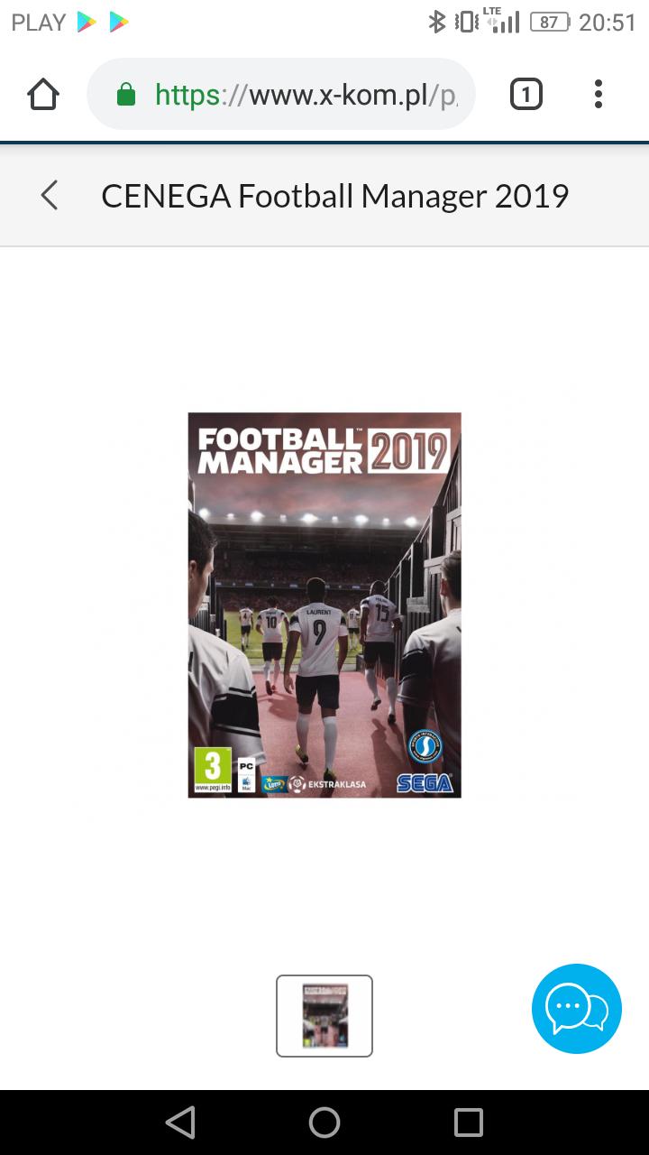 Football Manager 2019 wersja fizyczna