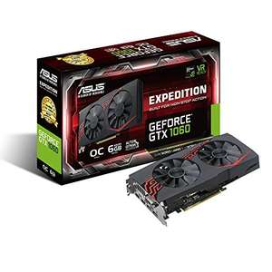 ASUS Expedition GeForce GTX 1060 OC 6 GB [amazon.fr]