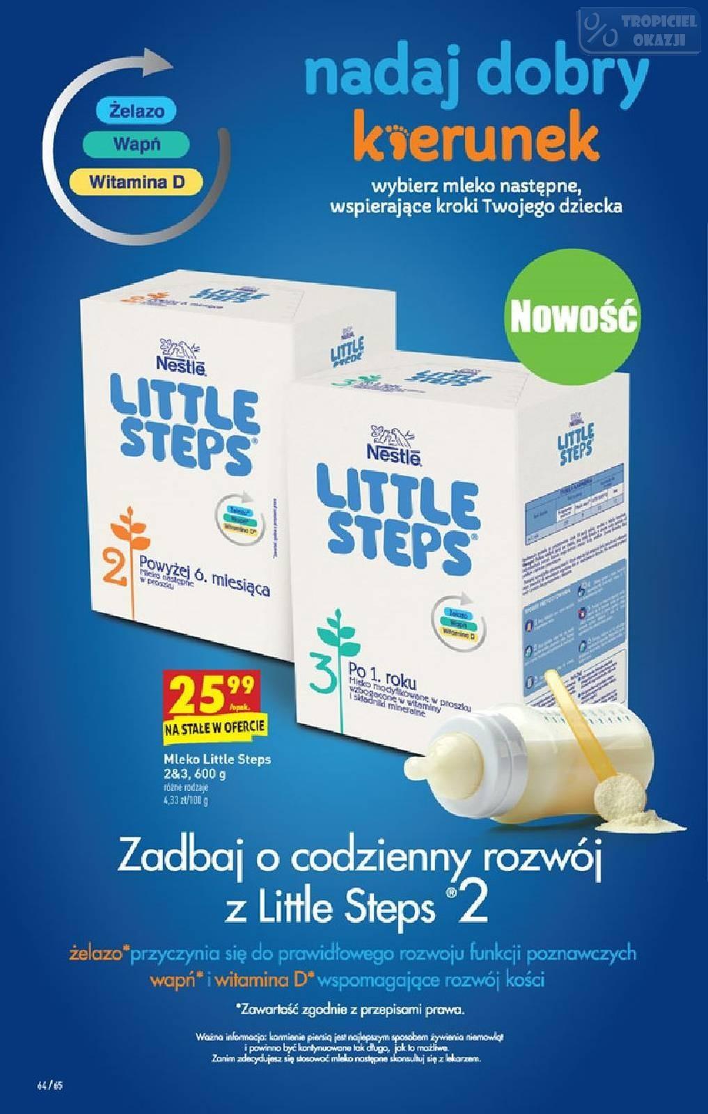 Nowość Mleko Nestle Little Steps
