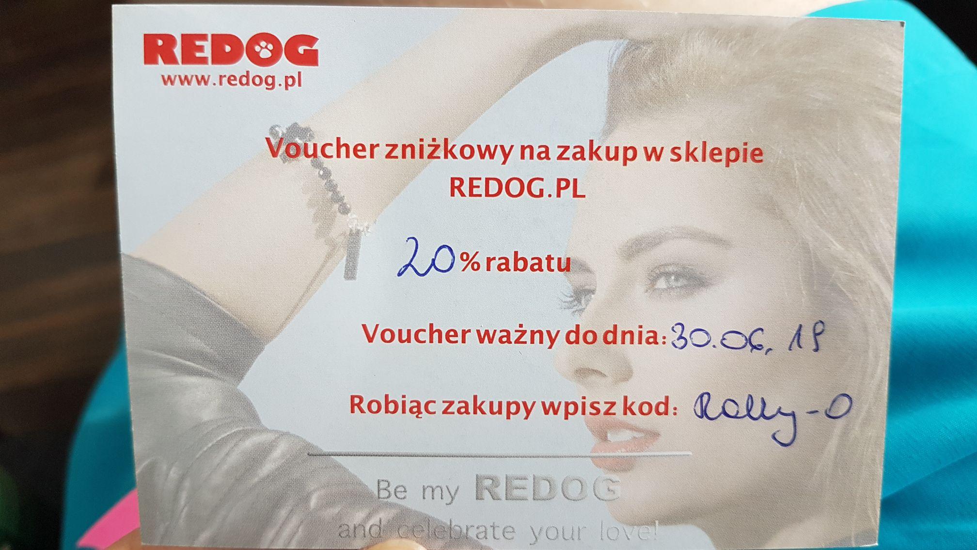 Rabat 20% na redog.pl