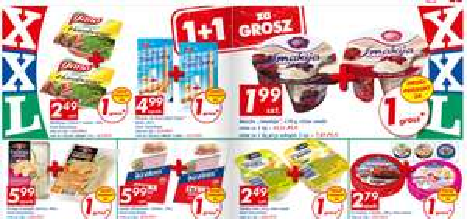 Drugi produkt za 1gr (Krakus, Bobovita, Frosta, Risana, Cleanic, Cilit Bang, Lovela) @ Auchan