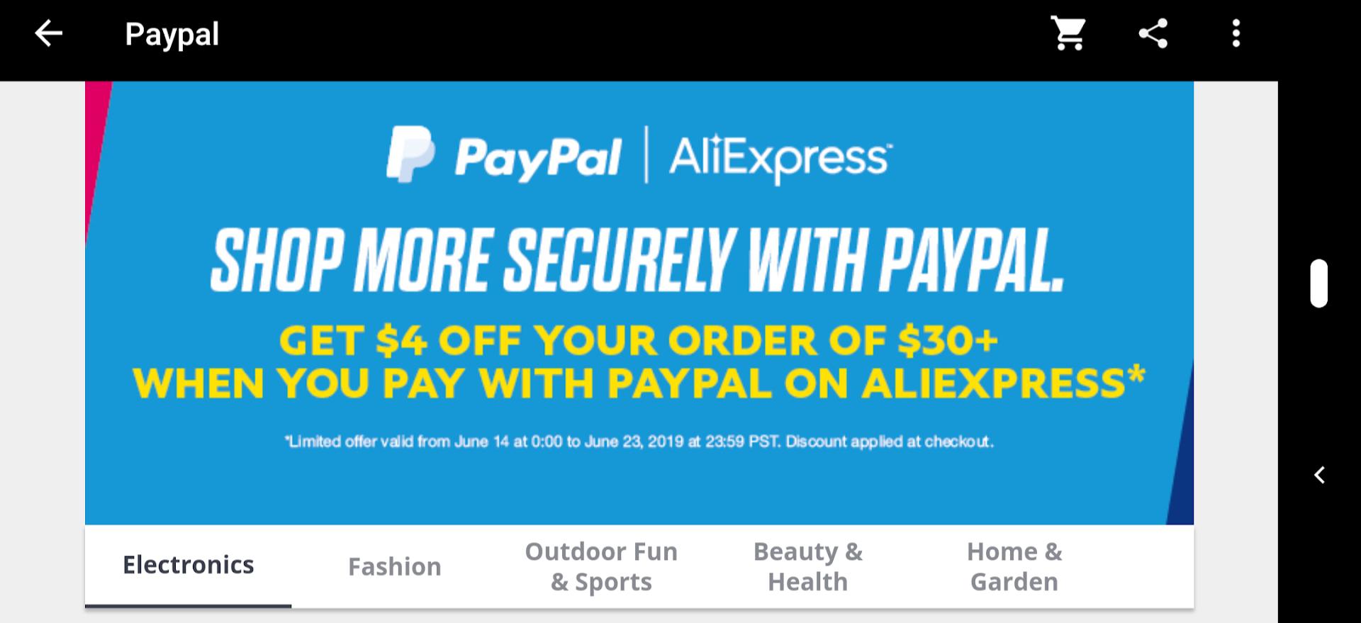 -4$ przy płatności PayPal